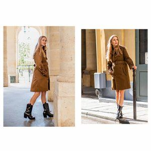 HM Studio Collection by Pernille Belt Trench Coat